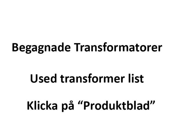Transformatorlista