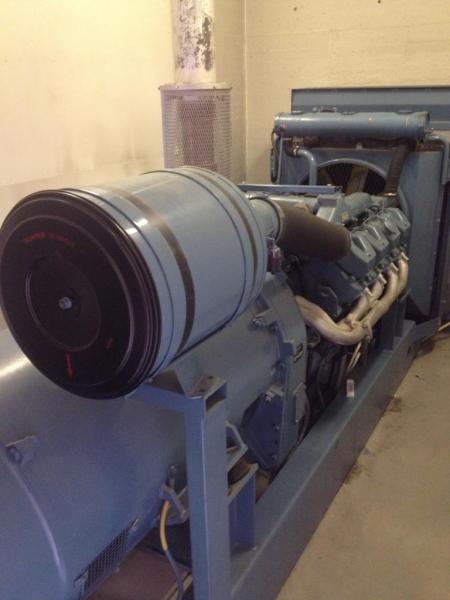 Scania 315 kVA