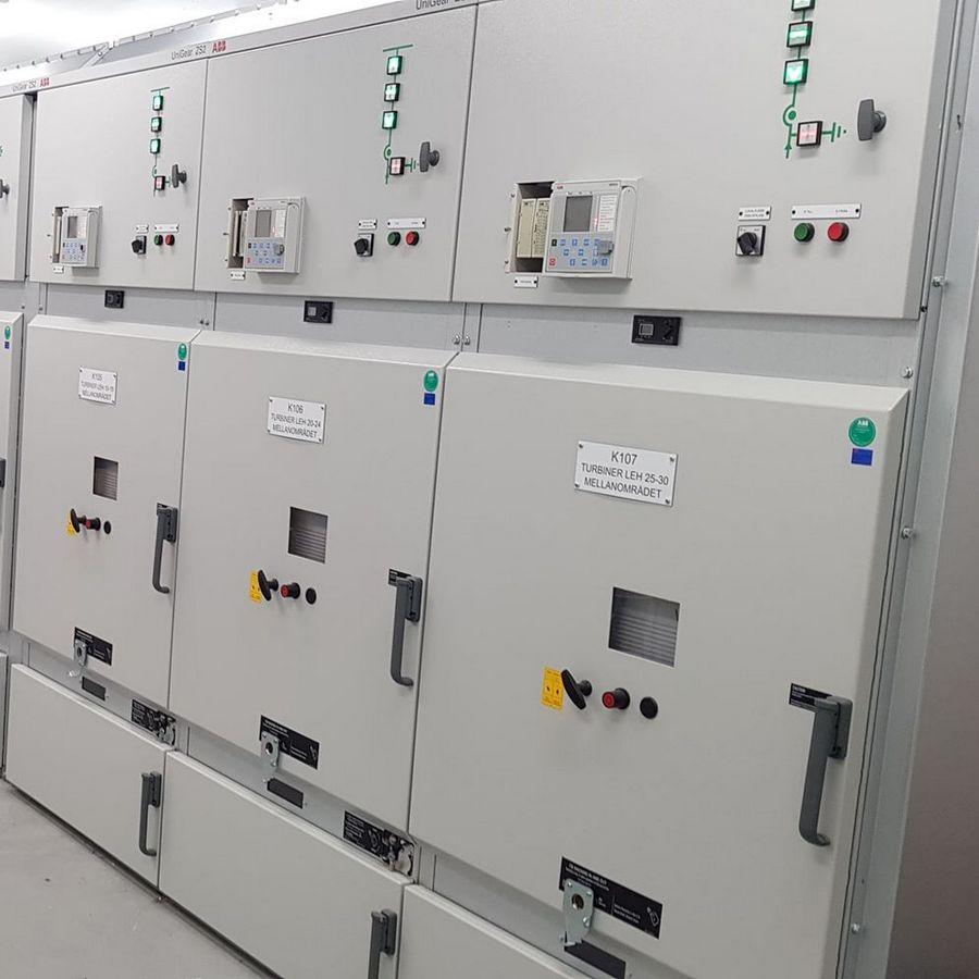 Installation 36kV ställverk